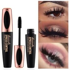 4D Silk Fiber Eyelashes Lash Mascara Waterproof Long Extension Long Last Make-Up
