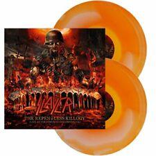 Slayer - The Repentless Killogy - Live... 2LP Orange / White Ink Spot Vinyl OVP