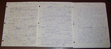 Ross Macdonald THREE HOLOGRAPH DRAFTS Essay On Nelson Algren Published 1977