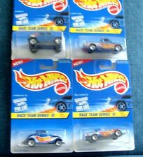 Race Team Series Iii by Hot Wheels - 4 Car Set - Collector Series -1:64 Cars '97