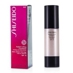 NEW Shiseido Radiant Lifting Foundation SPF 15 - # B20 Natural Light Beige 1.2oz