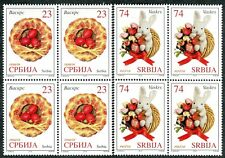 1221 SERBIA 2018 - Easter - MNH Set - Block of 4