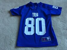 New York Giants: #80 CRUZ: BLUE NFL TEAM APPAREL Jersey: YOUTH SMALL