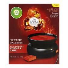 Air Wick Life Scents Electric Wax Melter Includes 3 Wax Melts - Mulled Wine