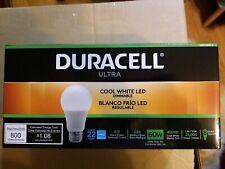 Duracell Ultra LED Light Bulb Cool White Dimmable 60w 4000k (8 Pack)