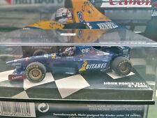 """1/43 Ligier Honda JS41 by Minichamps Olivier Panis with full sponsor """"Gitanes"""""""
