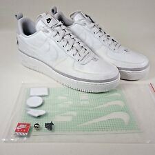 Nike Air Force 1 Low '07 AS QS All Star 90/10 2018 Vast Grey White Men Size 10.5