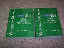 2008 Mercury Milan Shop Service Repair Manual Set I4 Premiere 2.3L 3.0L V6 AWD