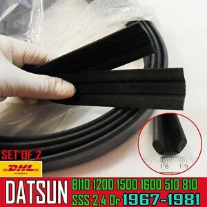 For Datsun Nissan Bluebird 510 1600 1800 1300 Window Door Glass Run Channel Felt