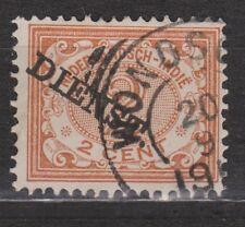 Netherlands Indies Nederlands Indie dienst 11 CANCEL WONOSOBO service stamp