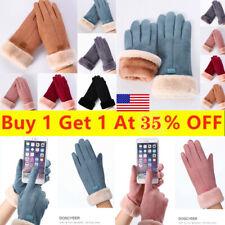 Women Touch Screen Winter Warms Snow Gloves Touck Screen Wind Waterproof Mittens