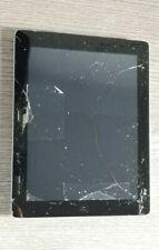 CRACKED SCREEN - Apple iPad 2  - 16GB, Wi-Fi + Cellular, 9.7in - Black