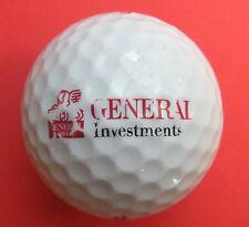 Pelota de golf con logo-generali investments-golf logotipo pelota amuleto recuerdo