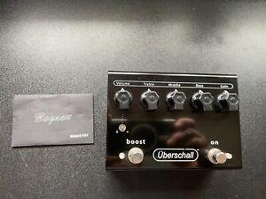 Bogner Uberschall distortion overdrive Boost pedal
