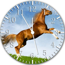 Beautiful Horse Frameless Borderless Wall Clock Nice For Gifts or Decor Y93