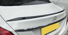 Mercedes Benz W205 4 Dr Saloon C63 Style Carbon Fiber Rear Boot Wing Spoiler