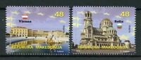 Macedonia 2018 MNH European Union EU Vienna 2v Set Architecture Tourism Stamps