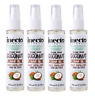 4-pack Inecto Divine Shine Coconut Hair Oil 100ml