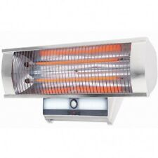 Excelair 2.3kW Wall Mounted Indoor / Outdoor Radiant Heater + PIR Sensor & Light