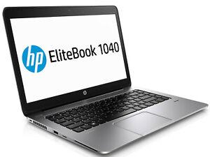 HP EliteBook Folio 1040 G2 i7-5600U 2.60GHZ 8GB 256GB  14'' Screen Win 10 Pro