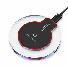 Qi Wireless Rapid Charger Charging Pad Mat Dock Station For iPhone 7 6S 5S Plus