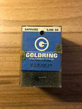 VINTAGE GOLDRING S.459 SR SAPPHIRE STEREO STYLUS/ NEEDLE FOR PIEZO CARTRIDGE