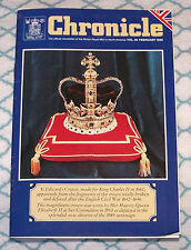 New listing Chronicle - official newsletter of British Royal Mint in North America Feb. 1989