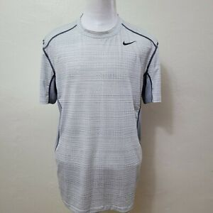 NIKE PRO COMBAT DRI-FIT MEN'S  S/S ATHLETIC FITTED GYM T-SHIRT SIZE XL