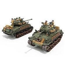 M4A3E8 America fury medium tank 1:30 Scale Sherman fury Paper model kit