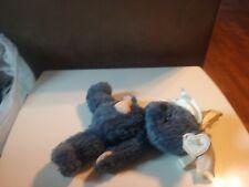 1998 Cherished Teddies Ribbon Bears KAREN Blue Plush MWT Vintage Stuffed T3