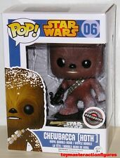 FUNKO 2015 POP STAR WARS CHEWBACCA 06 (HOTH) Game Stop Exclusive MIMB In Stock