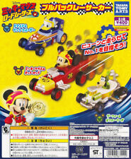 Takara Tomy Mickey Mouse and Road Racers Pullback Racer Car Gashapon Set of 3pcs