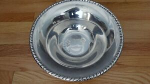 Silver Plated Serving Bowl, Pier 1 Imports