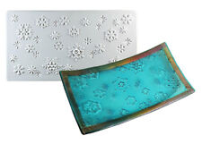 Snowflake Texture Tile Mold - Glass Fusing