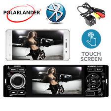"MP5 Player 4"" 1 din Lien miroir Autoradio caméra Écran tactile AUX USB Bluetooth"
