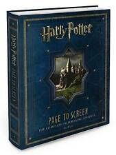 USED (GD) Harry Potter Page to Screen: The Complete Filmmaking Journey by Bob Mc
