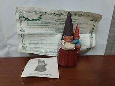 2116 Flambro Exclusively Hannah Josh Klaus Wickl Studios Gnome Figurine Tag 1992