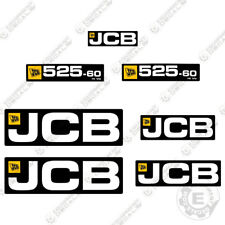 JCB 525-60 Decals Telehandler Replacement Decals