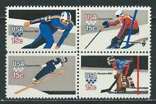 USA - MNH Block of 4  Stamps - Winter Olympics 1980