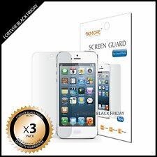 iPhone 5 Screen Protector Anti-Scratch Clear 3x Front Guard
