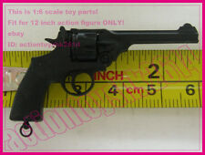 1/6 scale WWII British Webley Revolver Handgun