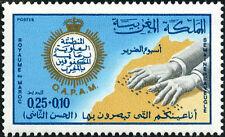 YT 584 Marokko Briefmarke hervorragend Organisation alawidischen Schutz aveugles