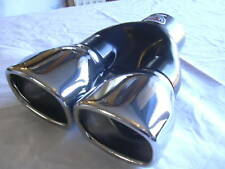 EXHAUST DOUBLE TWIN SPORT PIPE TRIM TIP FOR VAUXHALL TIGRA ASTRA  VECTRA CORSA