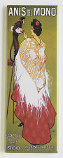 Anis del Mono FRIDGE MAGNET (1.5 x 4.5 inches) absinthe poster monkey