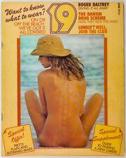 Harri Peccinotti BIBA Mr Freedom THE WHO Jesus Jellett KENYA 19 magazine 70s vtg