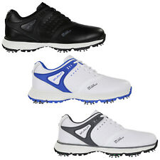 Stuburt Mens Evolve Tour Waterproof Golf Shoes Spiked Grip Leather Comfort