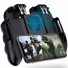 4 Trigger Mobile Game Controller with Cooling Fan for PUBG Call of Duty Fotnite