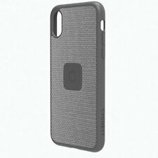 CYGNETT SLIM CASE WITH CARBON FIBRE FOR IPHONE X/10 - SILVER - CY2241CPURB