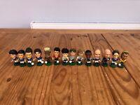 14x Various International Football Corinthian Figures - 1998 to 2002 - GQ