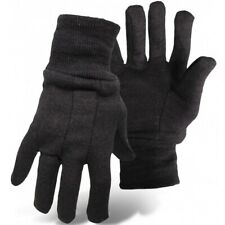 Boss Brown Jersey 9oz Work Gloves 12 Pack